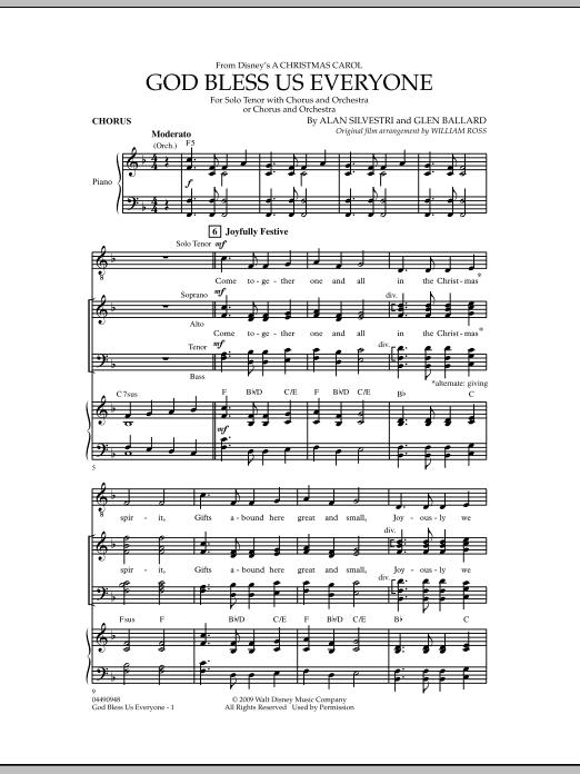 God Bless Us Everyone - Chorus (Full Orchestra)