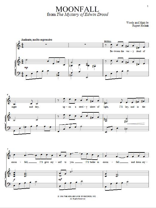 Moonfall Sheet Music