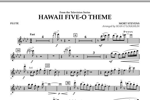 Hawaii Five-O Theme - Flute (Concert Band)