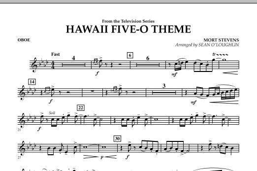 Hawaii Five-O Theme - Oboe (Concert Band)