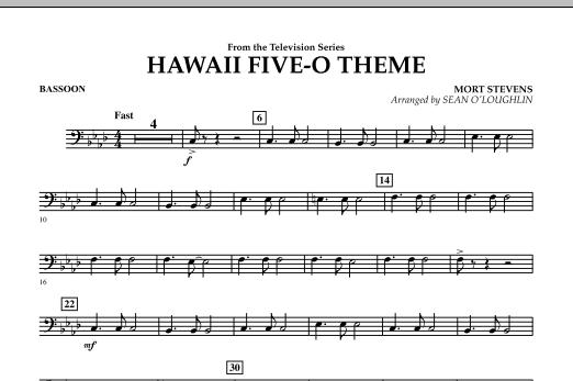Hawaii Five-O Theme - Bassoon (Concert Band)