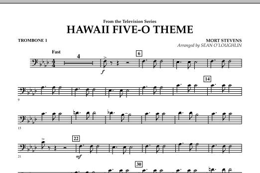Hawaii Five-O Theme - Trombone 1 (Concert Band)
