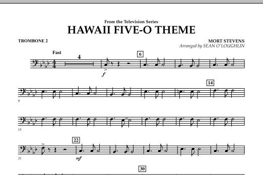 Hawaii Five-O Theme - Trombone 2 (Concert Band)