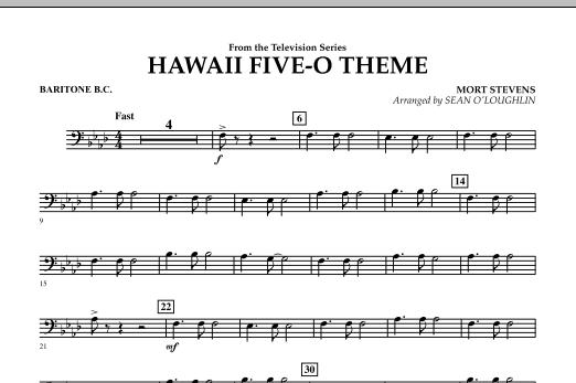 Hawaii Five-O Theme - Baritone B.C. (Concert Band)