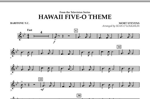 Hawaii Five-O Theme - Baritone T.C. (Concert Band)