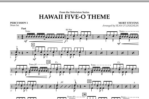 Hawaii Five-O Theme - Percussion 1 (Concert Band)