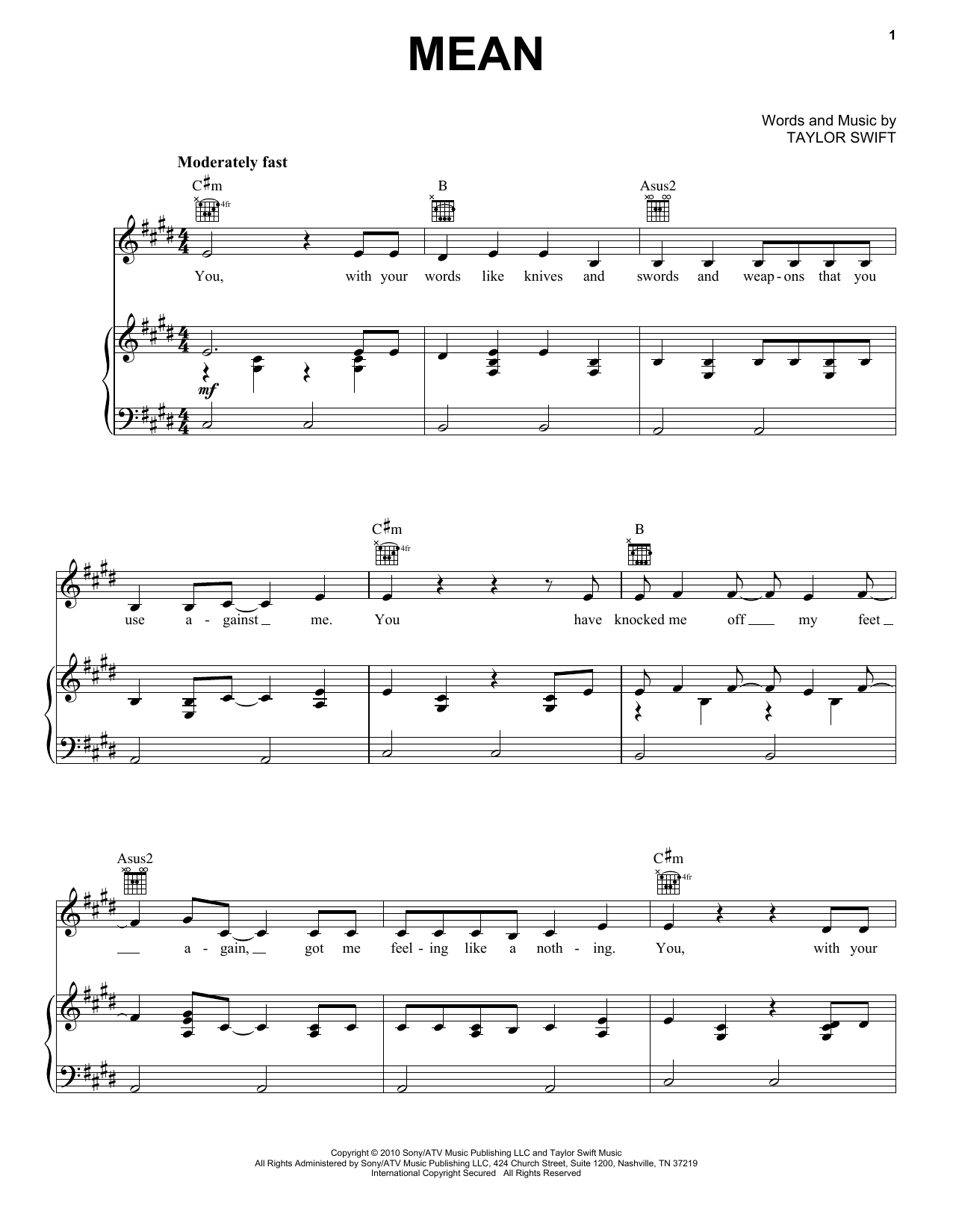Taylor Swift Hits (complete set of parts) sheet music for voice, piano or guitar by Taylor Swift, Liz Rose, Max Martin and Shellback. Score Image Preview.