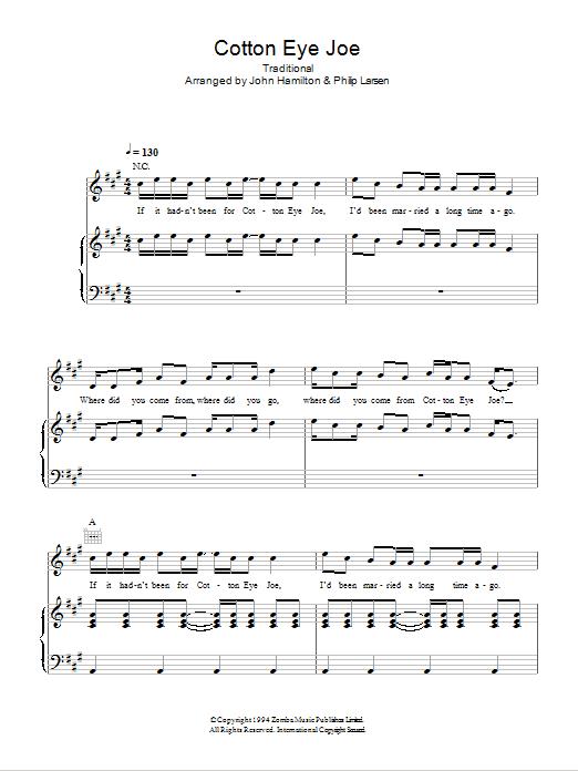 REDNEX - COTTON EYED JOE LYRICS - SONGLYRICS.com