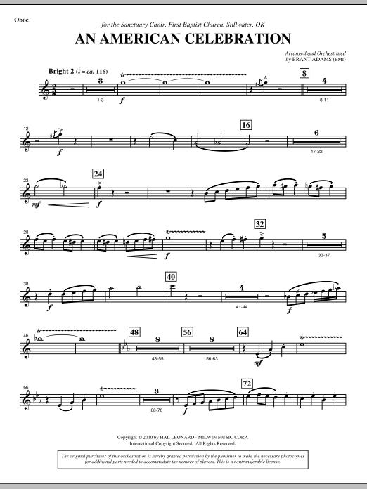An American Celebration - Oboe (Choir Instrumental Pak)