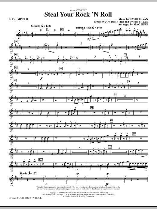 Steal Your Rock 'N Roll - Bb Trumpet 2 (Choir Instrumental Pak)