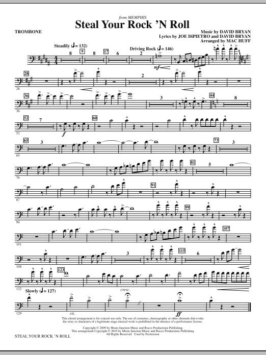 Steal Your Rock 'N Roll - Trombone (Choir Instrumental Pak)