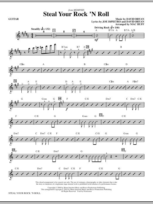 Steal Your Rock 'N Roll - Guitar (Choir Instrumental Pak)