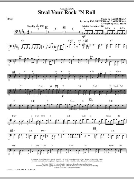 Steal Your Rock 'N Roll - Bass (Choir Instrumental Pak)