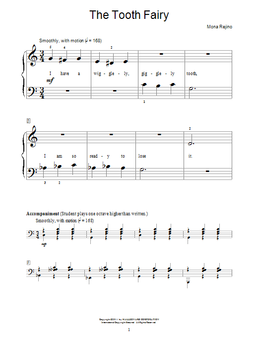 The Tooth Fairy Sheet Music