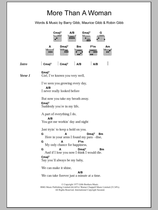 I Ve Got A Woman Chords Images - finger placement guitar chord chart