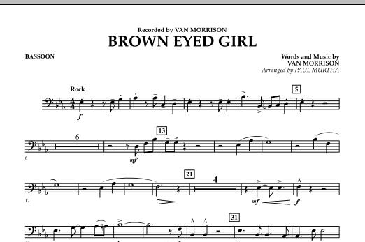 Brown Eyed Girl - Bassoon (Concert Band)