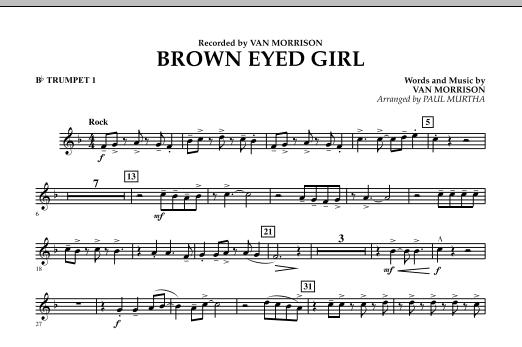 Brown Eyed Girl - Bb Trumpet 1 (Concert Band)