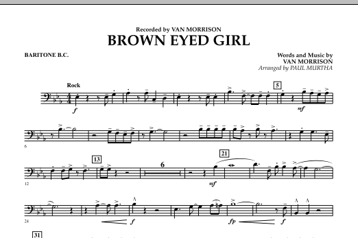 Brown Eyed Girl - Baritone B.C. (Concert Band)