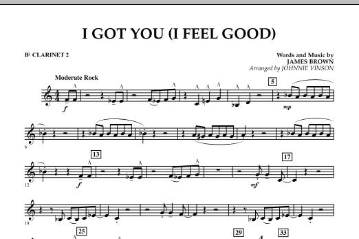 I Got You (I Feel Good) - Bb Clarinet 2 (Concert Band)