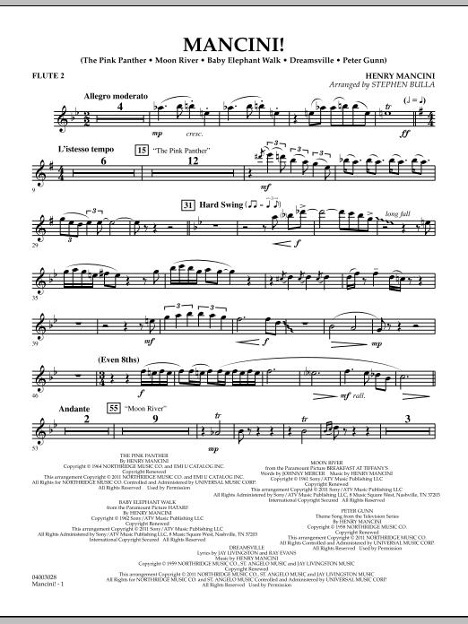 Mancini! - Flute 2 (Concert Band)