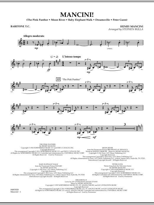 Mancini! - Baritone T.C. (Concert Band)