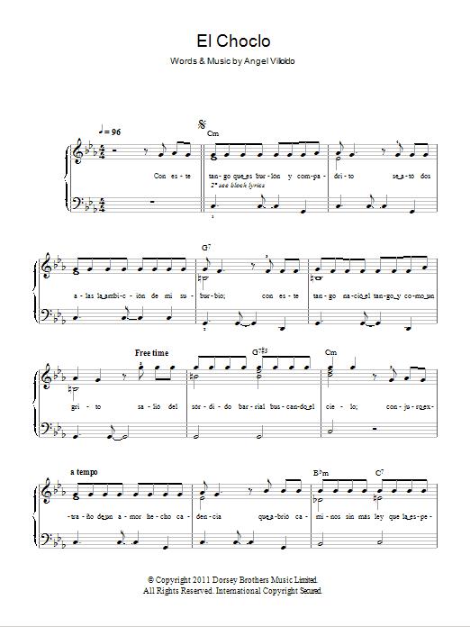 El Choclo Sheet Music