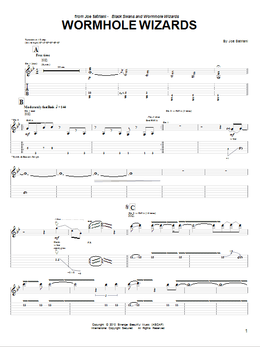 Wormhole Wizards Sheet Music