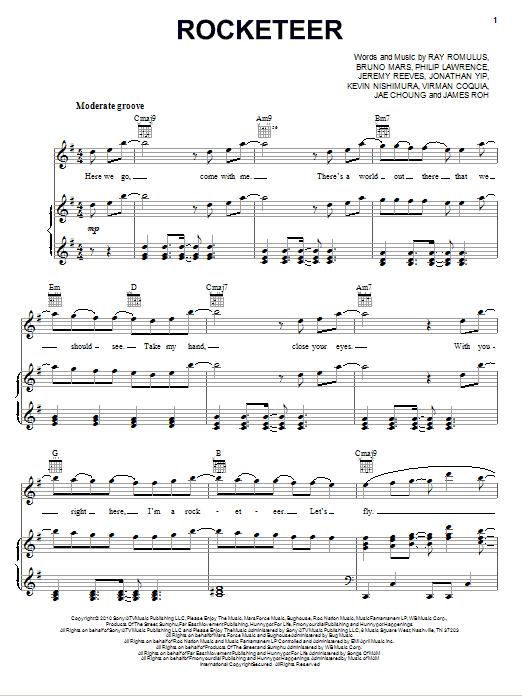 Rocketeer Sheet Music
