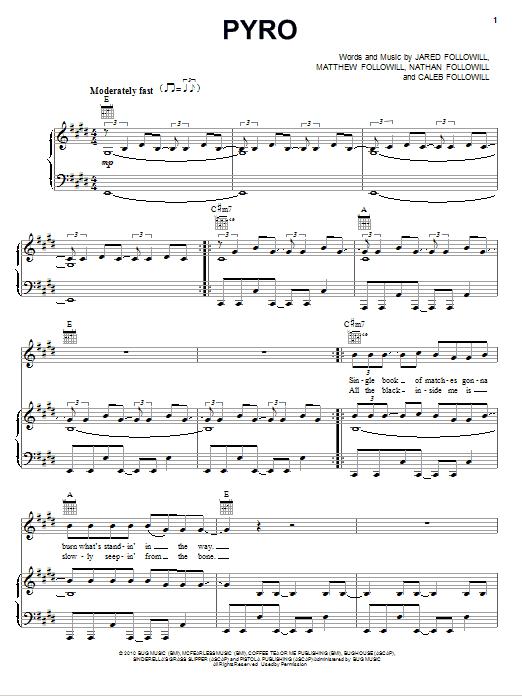 Pyro Sheet Music