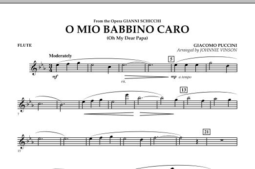 O Mio Babbino Caro - Flute (Concert Band)