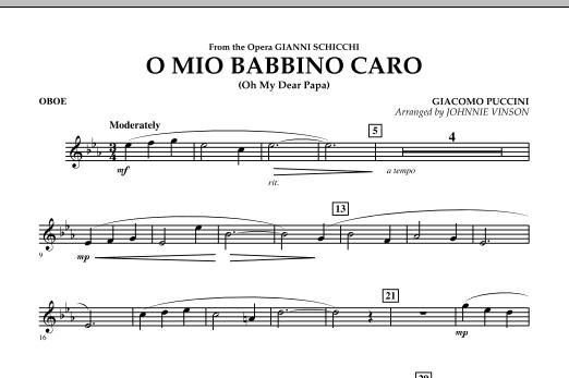 O Mio Babbino Caro - Oboe (Concert Band)