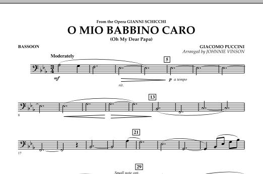 O Mio Babbino Caro - Bassoon (Concert Band)