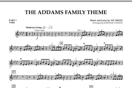 The Addams Family Theme - Pt.1 - Violin (Concert Band)