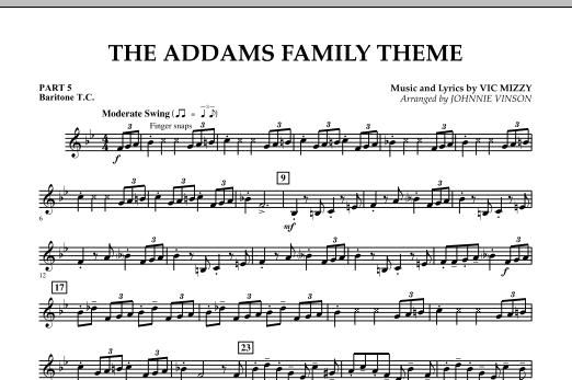The Addams Family Theme - Pt.5 - Baritone T.C. (Concert Band)