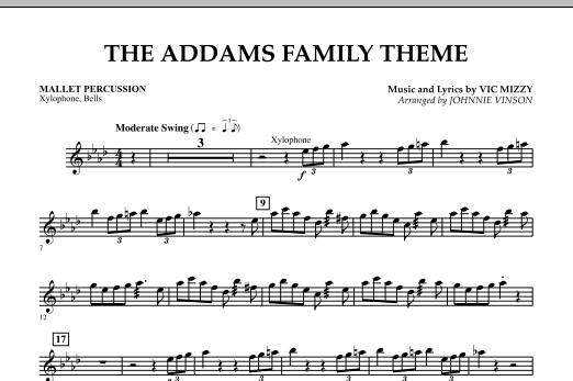 The Addams Family Theme - Mallet Percussion (Concert Band)