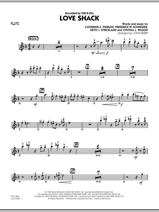 Love Shack - Flute (Jazz Ensemble)