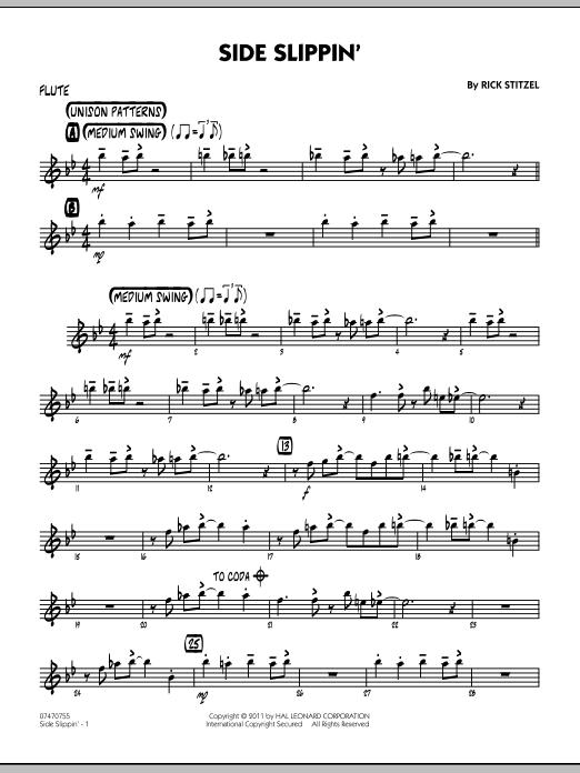 Side Slippin' - Flute (Jazz Ensemble)