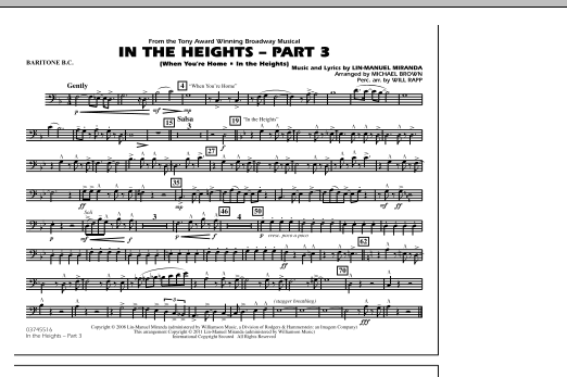 In The Heights: Part 3 - Baritone B.C. (Marching Band)