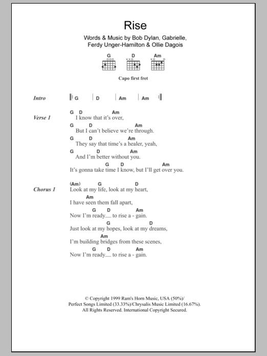 Rise Sheet Music