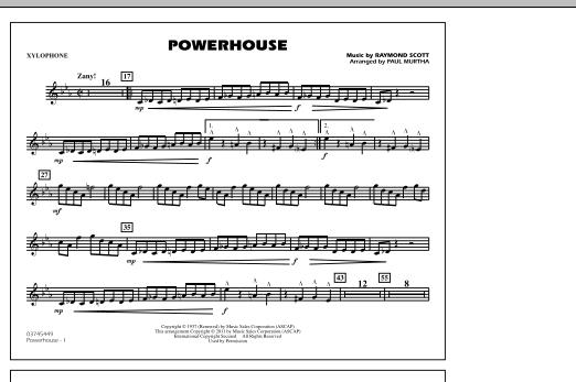 Powerhouse - Xylophone (Marching Band)