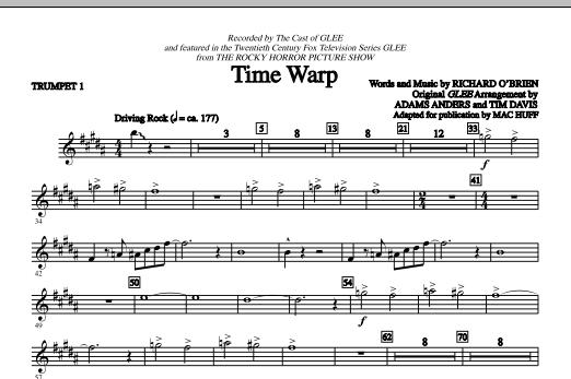 Time Warp - Bb Trumpet 1 (Choir Instrumental Pak)