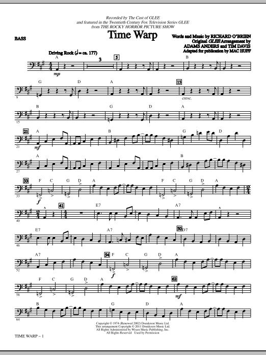 Time Warp - Bass (Choir Instrumental Pak)