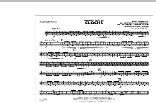 Clocks - Bells/Xylophone (Marching Band)