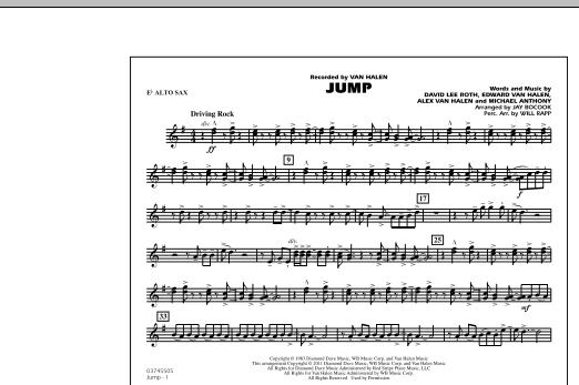 Jump - Eb Alto Sax (Marching Band)
