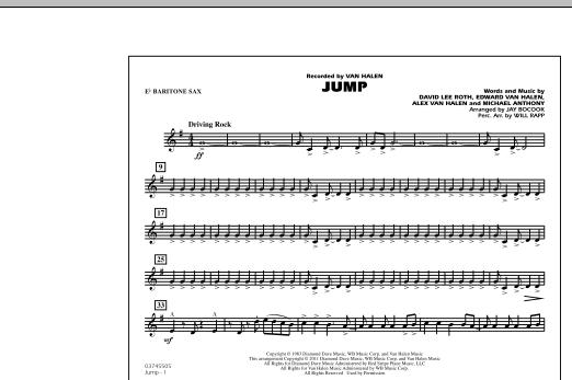 Jump - Eb Baritone Sax (Marching Band)