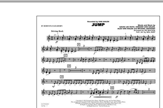 Jump - Bb Horn/Flugelhorn (Marching Band)