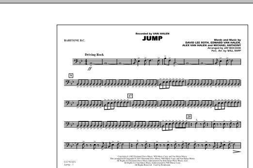 Jump - Baritone B.C. (Marching Band)