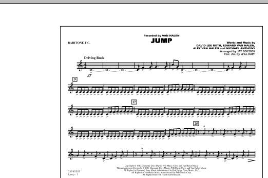Jump - Baritone T.C. (Marching Band)