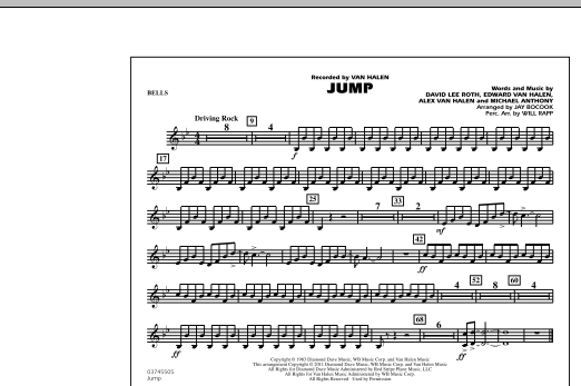 Jump - Bells (Marching Band)