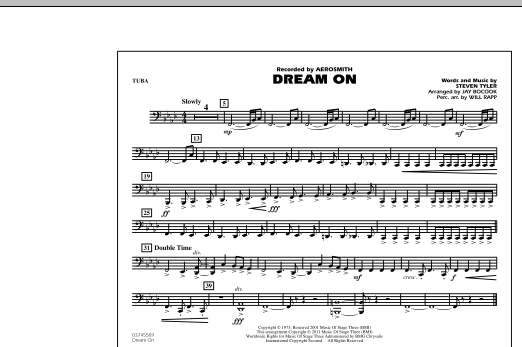 Dream On - Tuba (Marching Band)